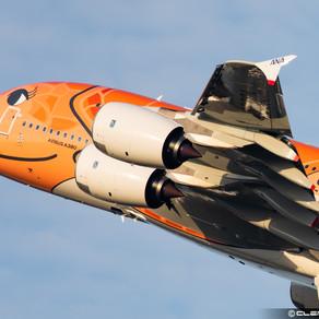 ANA reçoit son 3eme et dernier Airbus A380 « Flying HONU »