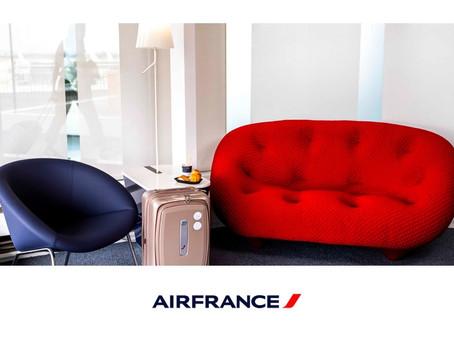 Air France rouvre son salon à Paris Orly 2 aux passagers des vols domestiques et Schengen