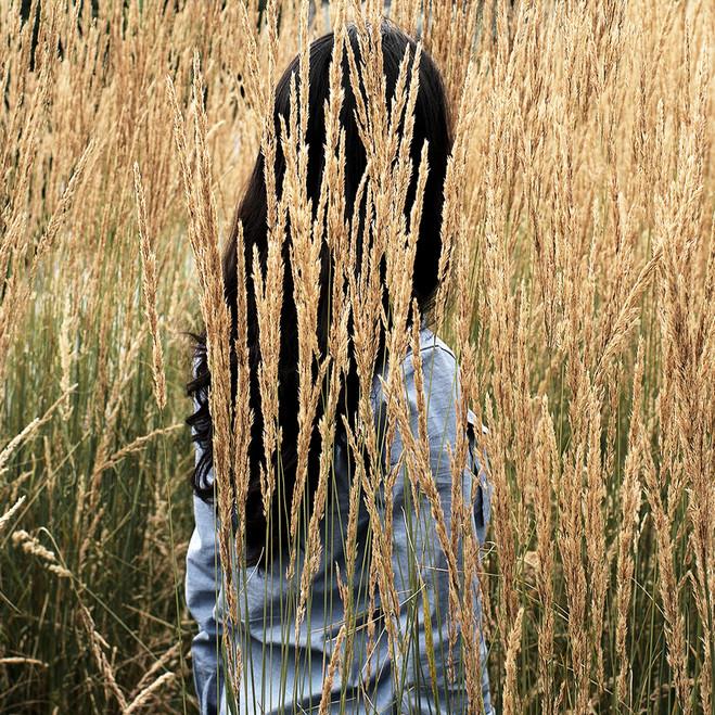 Black hair Archival pigment print 30 x 30 cm Photography 2017