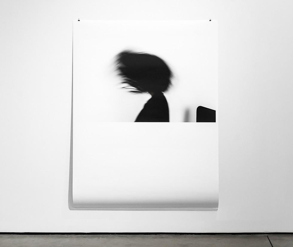 Headache, installation view Archival pigment print 108 X 77cm 2018