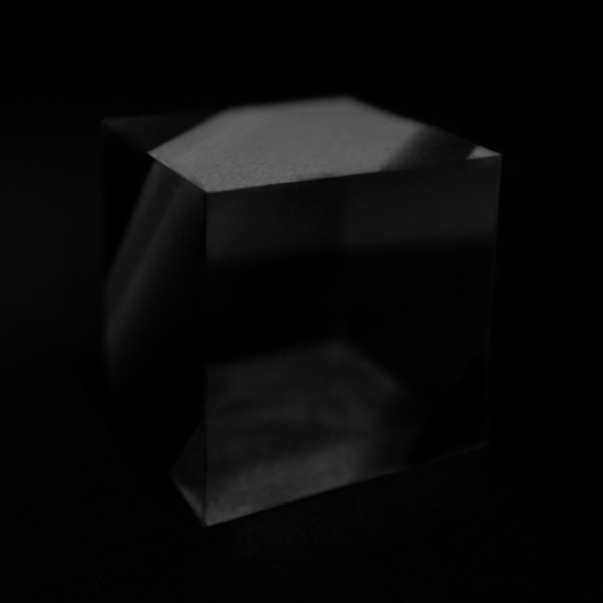 Cube I Archival pigment print 110 x110 cm Photography 2017