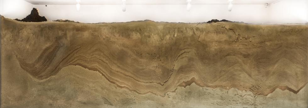 Sandbox, Sub/Ob-Ject, exhibition view(detail) Doosan Window Gallery, Seoul 300 x 700cm 2017