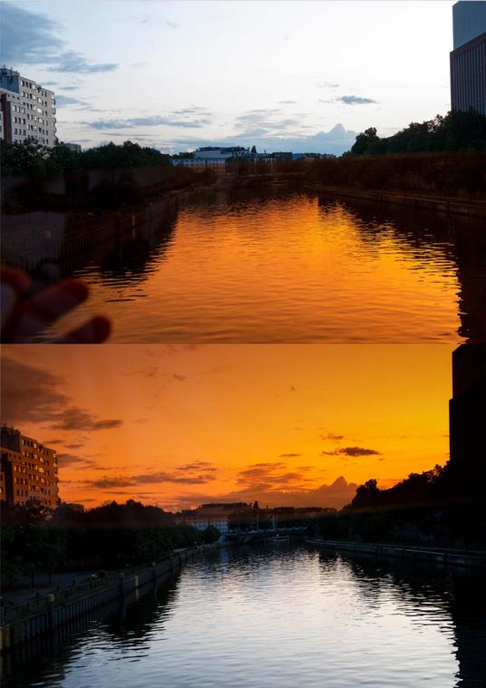Sunset Archival pigment print 84x59.4cm 2019