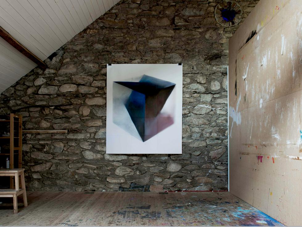 Crystal Lake, installation view 2014