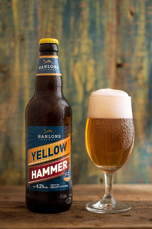 12x 500ml Hanlons Yellow Hammer