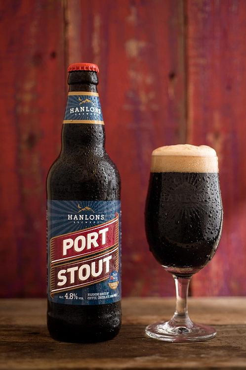 12x 500ml Hanlons Port Stout