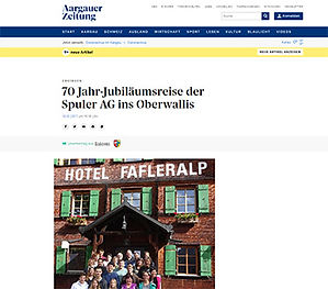 Johanneli Fi wine cellar, Swiss wine tourism prize, Visperterminen, Highest vineyard in Europe, Heida, Aargauer Zeitung