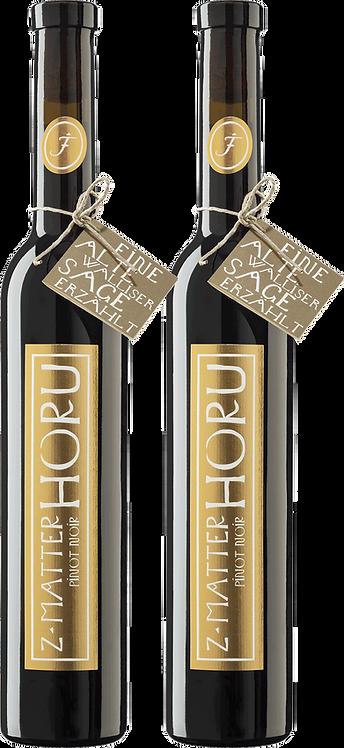 2er Geschenkbox z'Matterhoru Pinot Noir AOC