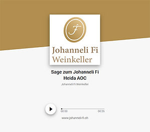 Johanneli Fi Weinkeller, Schweizer Weintourismuspreis, Visperterminen, Höchster Weinberg Europas, Heida, Walliser Sagen, Sagengeschichten