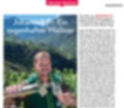 Johanneli Fi Wine Cellar, Swiss Wine Tourism Prize, Visperterminen, Highest Vineyard in Europe, Heida, Schweizer Illustrierte