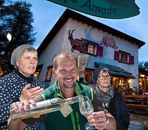 Restaurant Moosalp, Event, Wine & Dine, Sagenabend, Boozuteam Agarn, Johanneli Fi Weinkeller, Geschenkidee