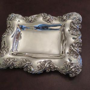 Art Nouveau Sterling Silver Dish