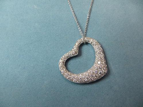Tiffany Diamond Heart -SOLD