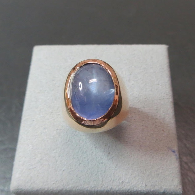 1940s Rose Gold Ring