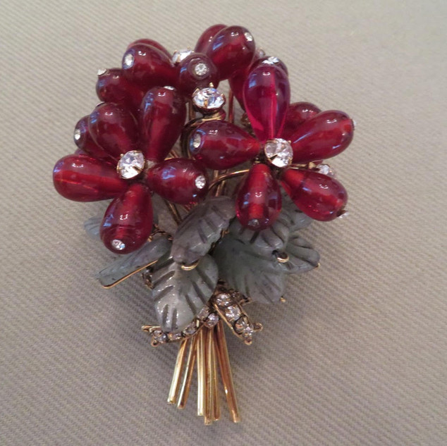 Iradg Moini Flower Brooch