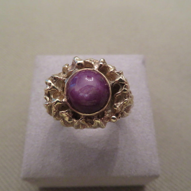 14k Star Ruby Ring
