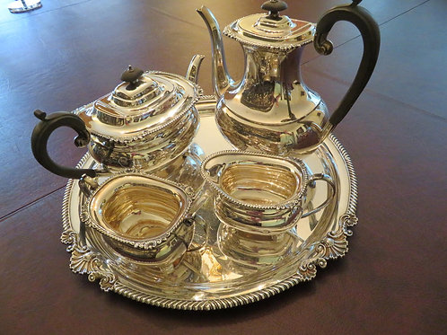 Garrard & Co. Sterling Silver Tea and Coffee Set
