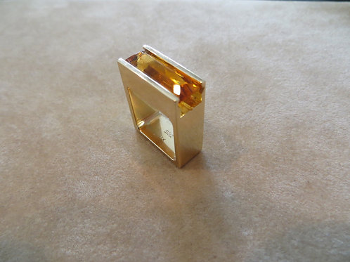 Citrine Ring - SOLD