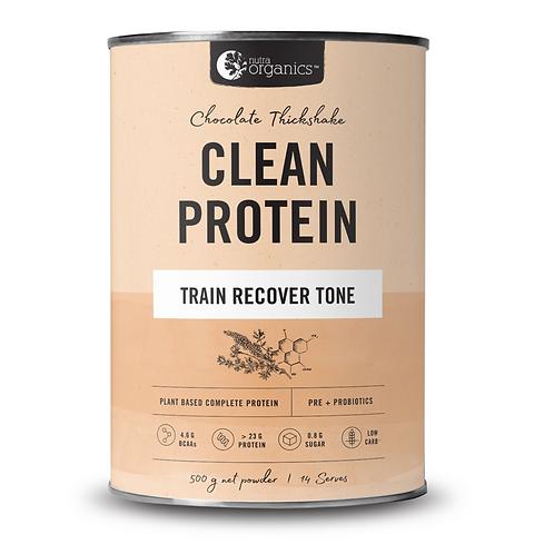 Nutra Organics Chocolate Thickshake Clean Protein