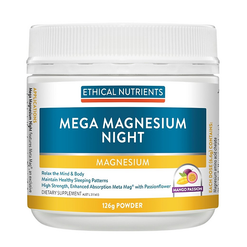 Ethical Nutrients Mega Magnesium Night