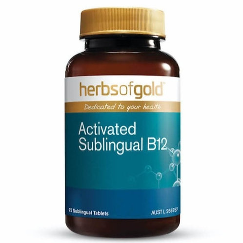 Activated Sublingual B12 75tabs
