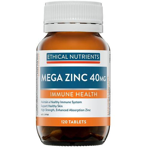 Ethical Nutrients Mega Zinc 120tablets