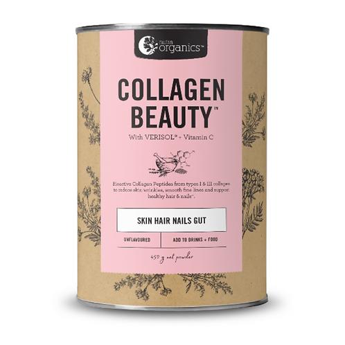 Nutra Organics Collagen Beauty with Verisol + Vitamin C 450g
