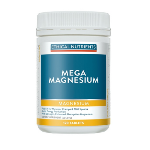Ethical Nutrients Mega Magnesium 120tablets