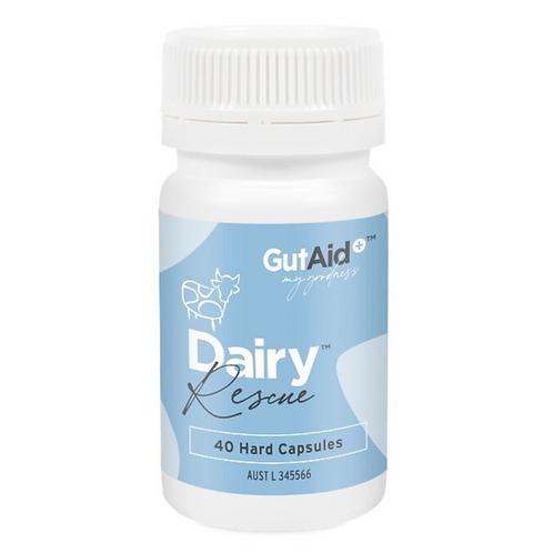 Gut Aid Dairy Rescue 40caps