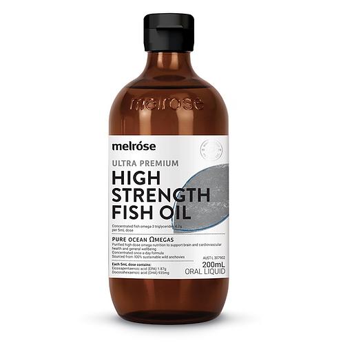Melrose High Strength Fish Oil 200ml