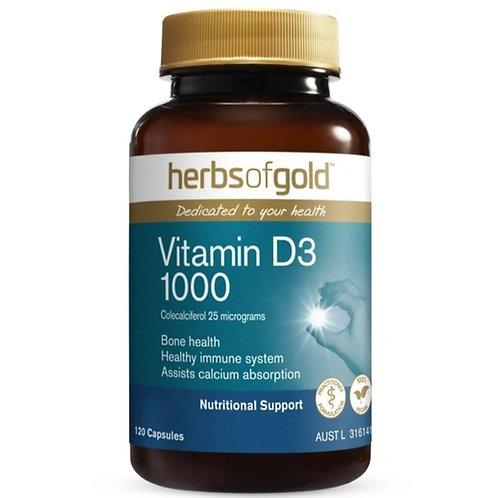 Vitamin D3 1000 120caps