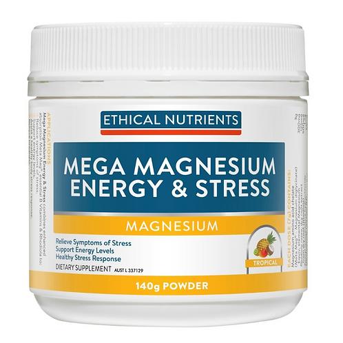 Ethical Nutrients Mega Magnesium Energy & Stress 140g