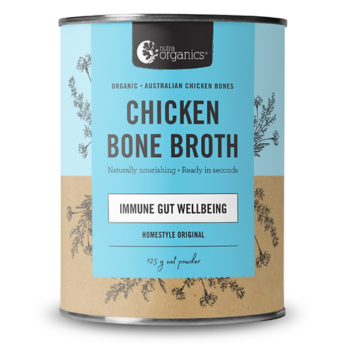 Nutra Organics Chicken Bone Broth Original 125g
