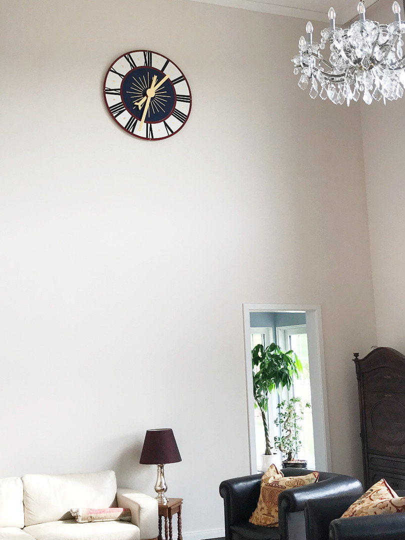 Tower clock for a residential house