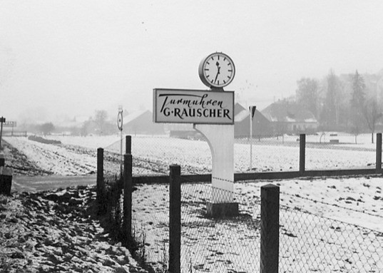New company premises in 1952