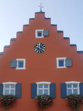 Rathausuhr der Gemeinde Gottenau