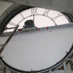Installation of the LED panels
