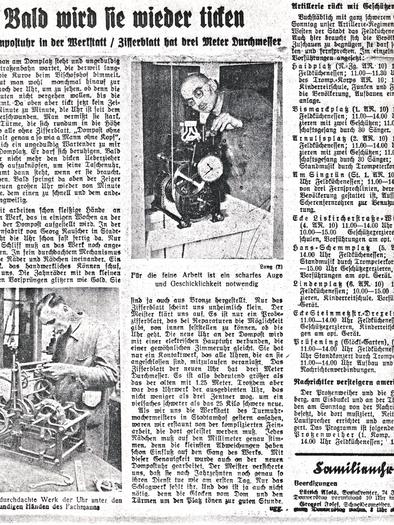 Bayerischer Anzeiger 1938