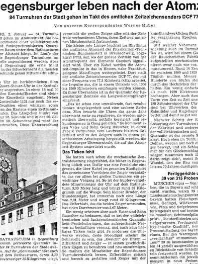 Süddeutsche Zeitung 1977