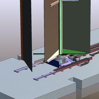 Detailzeichnung in 3D des Figurenspiels