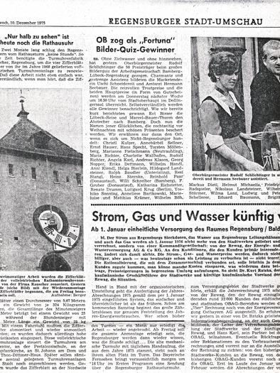 Mittelbayerische Zeitung 1975