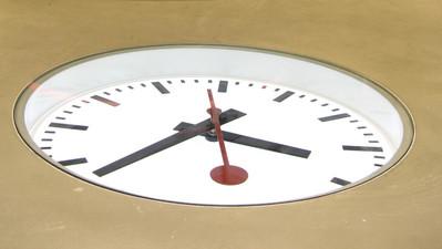 Bodenuhr mit Sekundenuhrwerk
