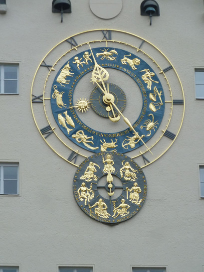 Astronomical clock at the German Museum