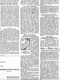 Mittelbayerische Zeitung 1948