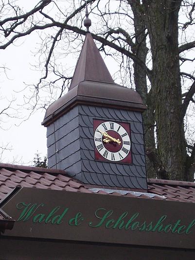 Tower clock for the Schlosshotel Friedrichsruhe