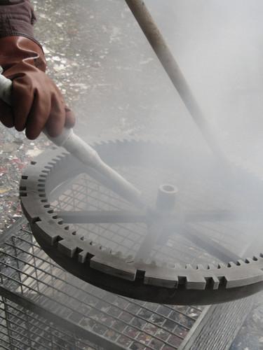 Restoration of a gearwheel
