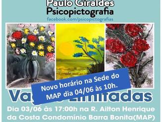 PINTURA MEDIÚNICA com Paulo Giraldes