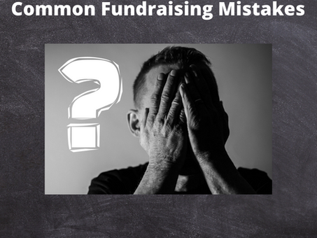 Common Mistakes in Small Nonprofit Fundraising