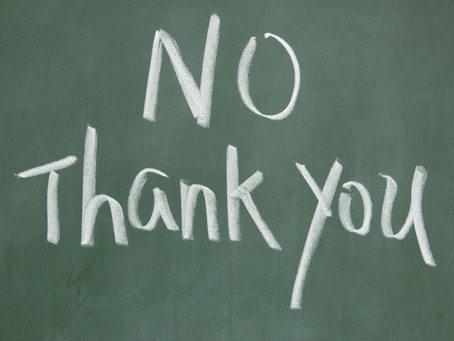 No Is An Acceptable Answer in Fundraising