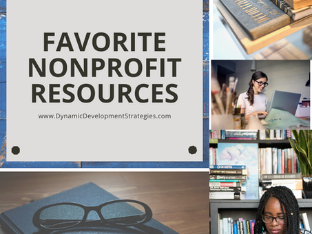 My Favorite Nonprofit Resources
